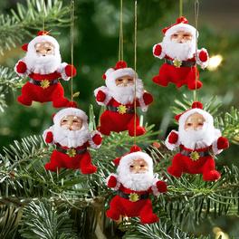Weihnachtsmänner, 6er-Set