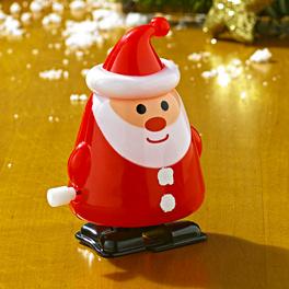 Weihnachtsmann aufziehbar