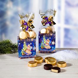 Weihnachtstüten mit Konfekt, 2er-Set