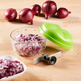 Zwiebel-/Gemüseschneider