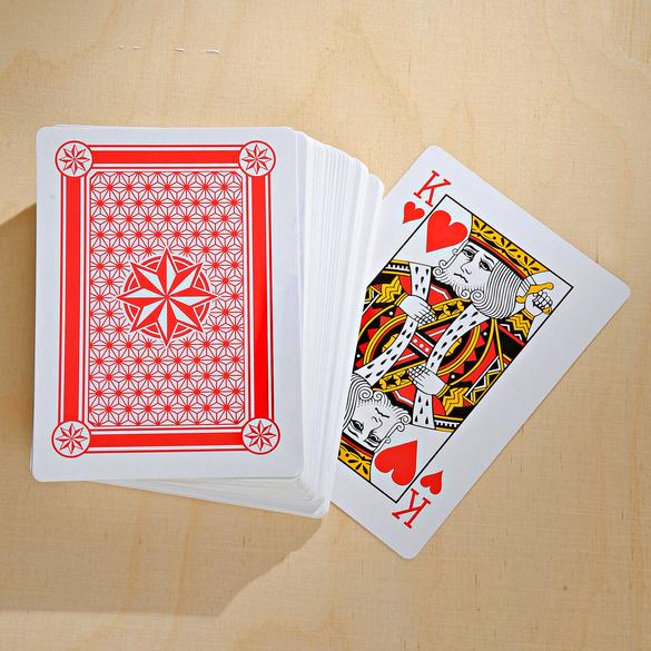Jumbo-Kartenspiel, 54-tlg.