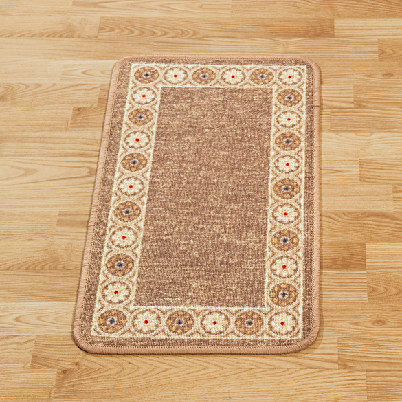 """Teppich """"Classico"""" beige, 40 x 70 cm"""