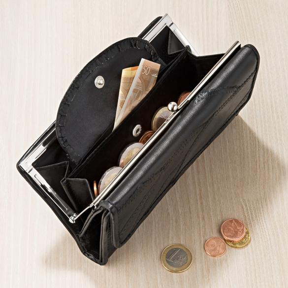 Geldbörse schwarz