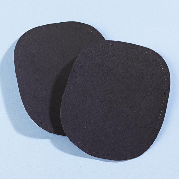 Aufbügel-Stoffe schwarz