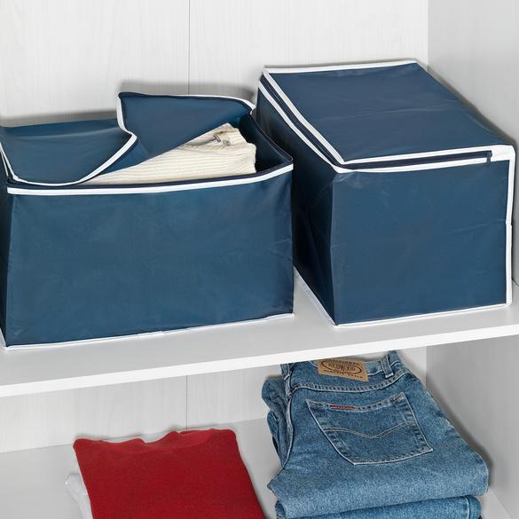 Ordnungsboxen blau