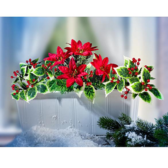 """Balkonkasten-Füllung """"Weihnachten"""""""