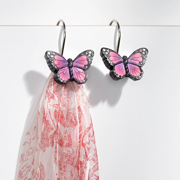 "Türhaken ""Schmetterling"" 2er-Set"