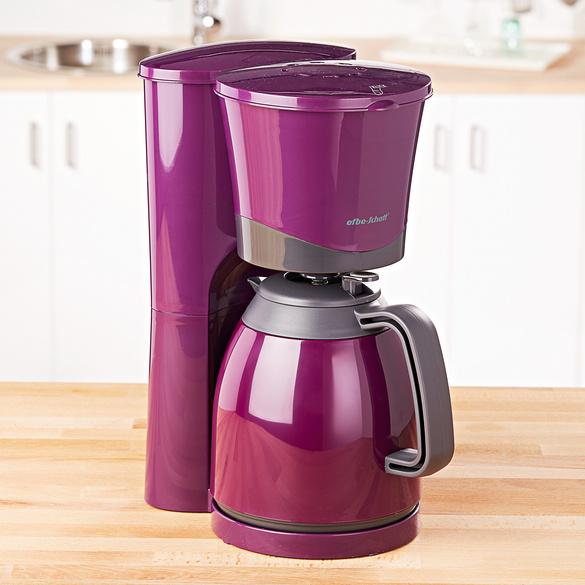 Kaffeemaschine lila