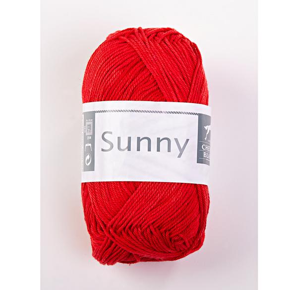 "Baumwollgarn ""Sunny"" erdbeere"