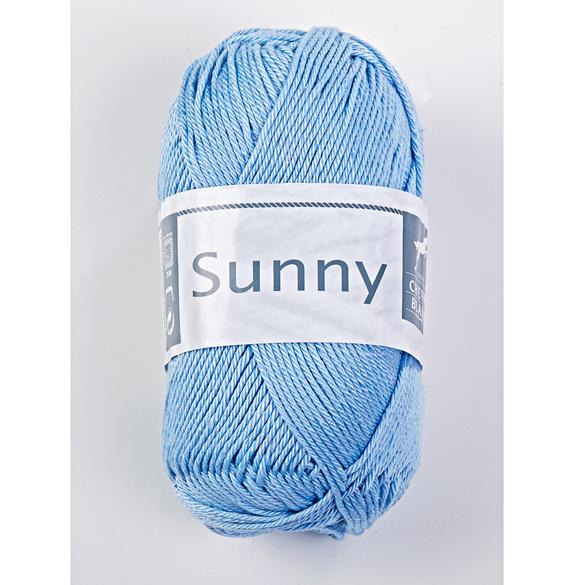 """Baumwollgarn """"Sunny"""" bleu"""