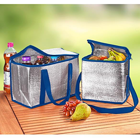 Kühltaschen blau, 2er-Set