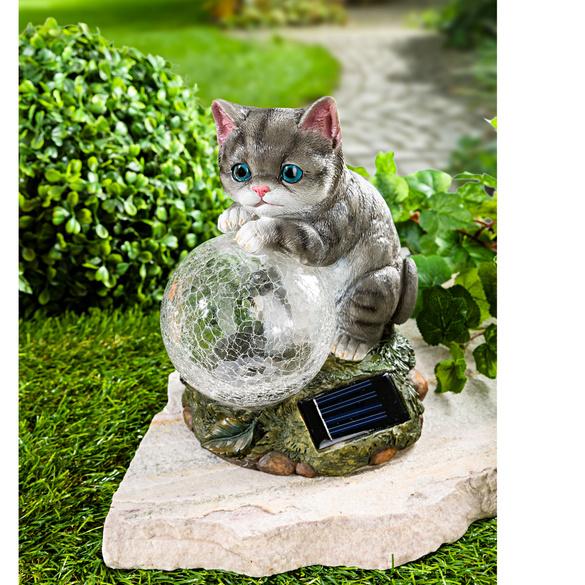 """Solarleuchte """"Katze"""""""