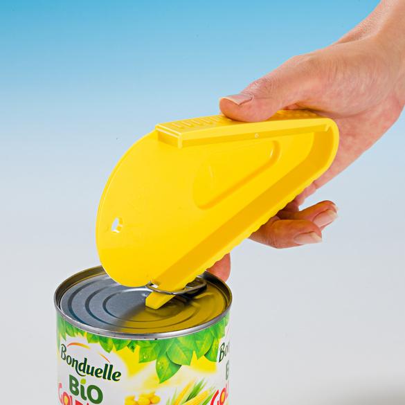 Universal-Deckelöffner gelb