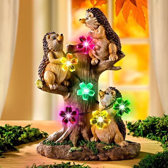 Solar-Baum + Igel