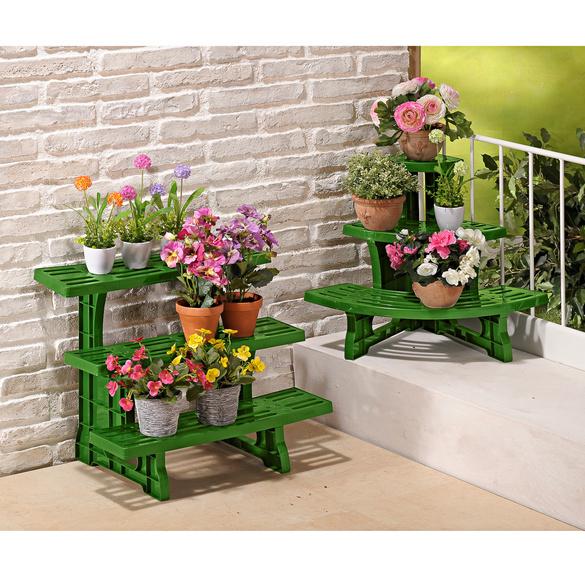 Pflanzenbank mit 3 Stufen