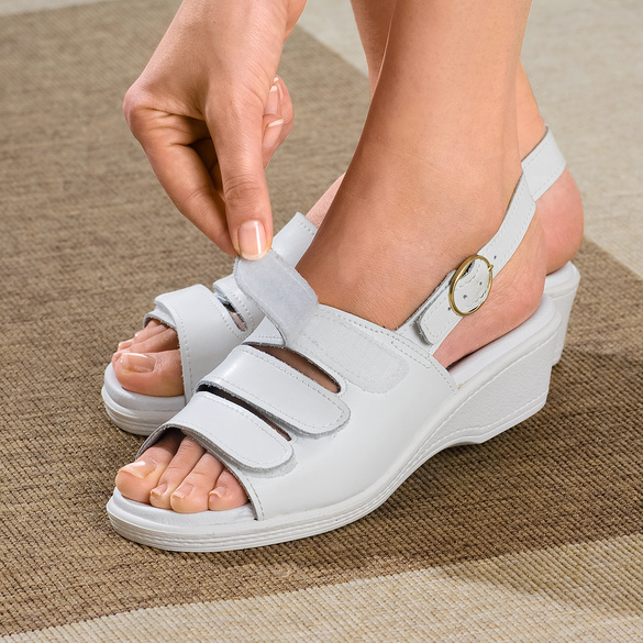 "Sandale ""Maja"" weiß"