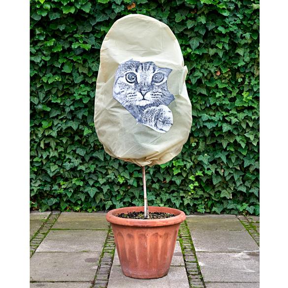 """Pflanzenhaube """"Katze"""""""