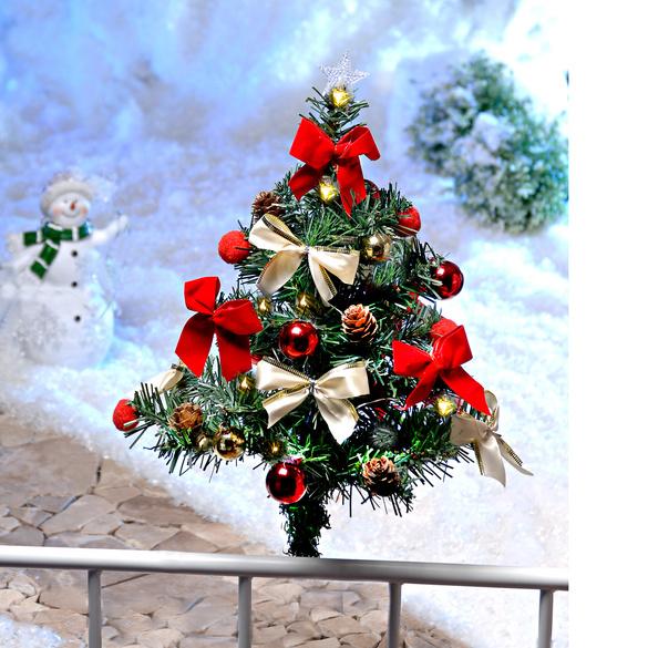 """Geländer-Deko """"Weihnachtsbaum"""""""