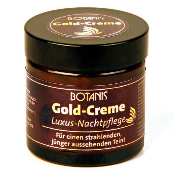 """Botanis """"Gold-Creme"""", Nachtcreme"""