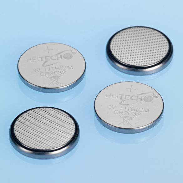 Lithium-Knopfzellen, 4er-Set