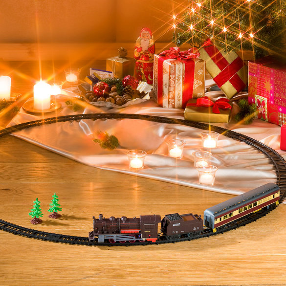 Eisenbahn-Set 17-tlg.