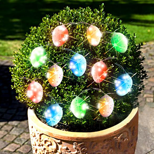 """Solar-Lichterkette """"Bunte Eier"""""""