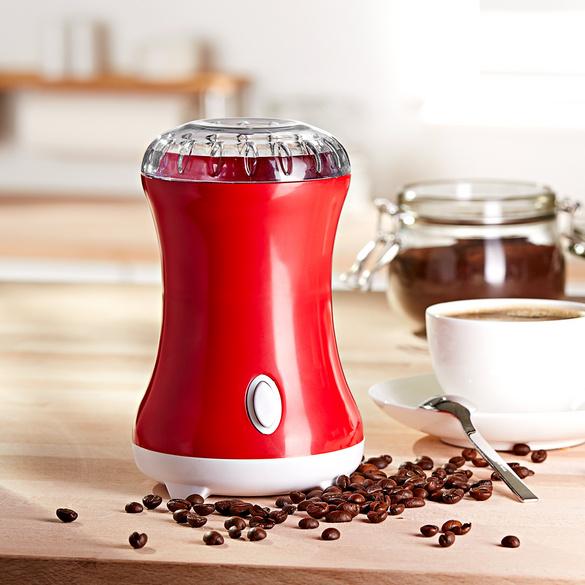 Kaffeemühle elektrisch rot