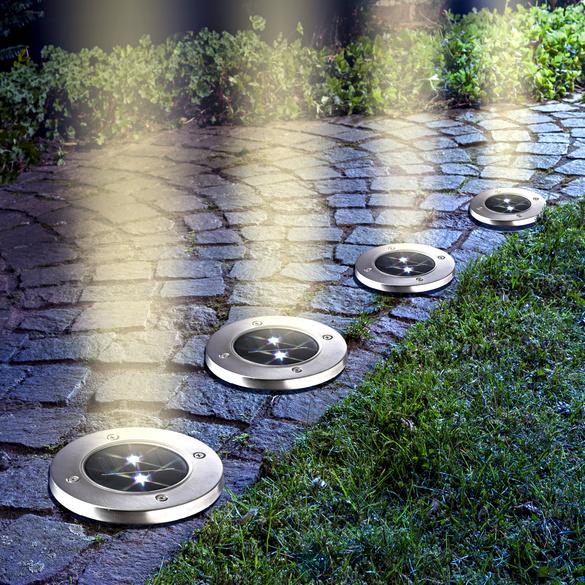 Solar-Spots, 4er-Set