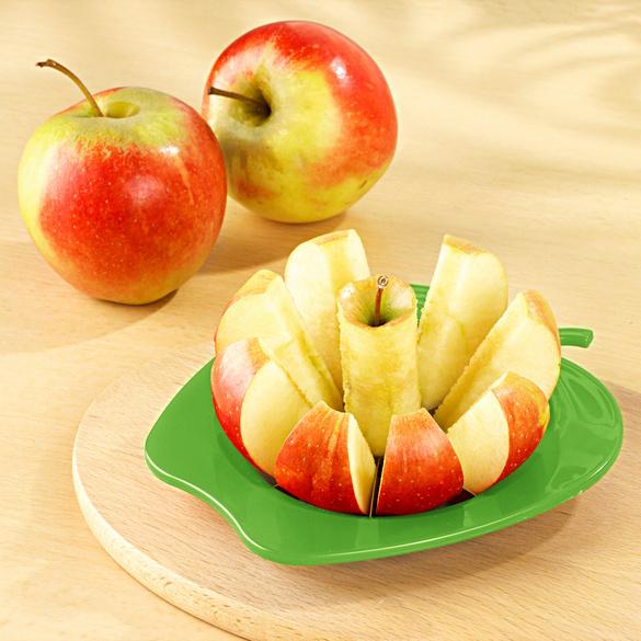 Apfelteiler 2-in-1 grün