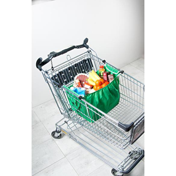 Einkaufswagentaschen, 2er-Set