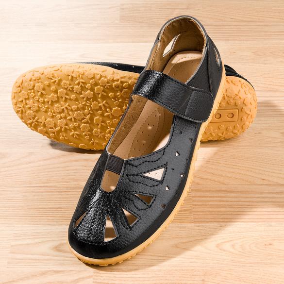 """Sandale """"Sandy"""" schwarz"""