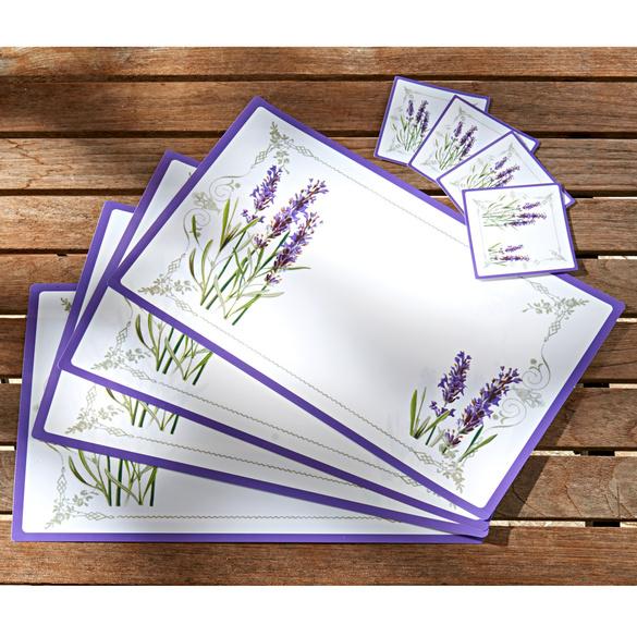 """Platzsets """"Lavendel"""", 8er-Set"""