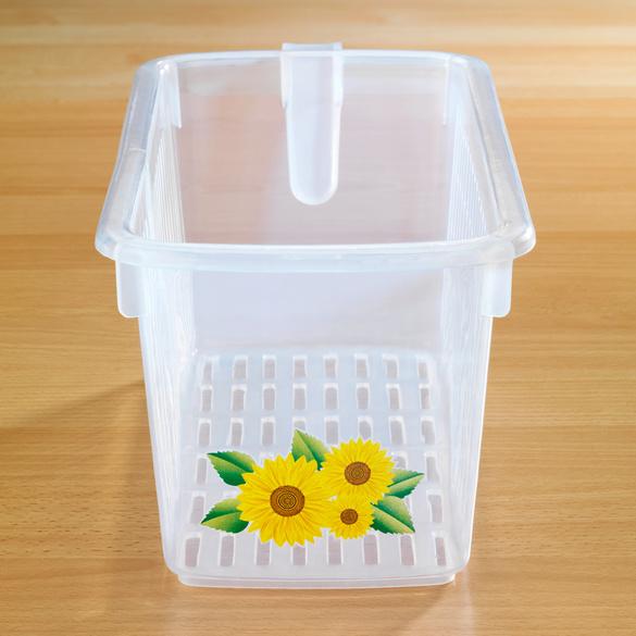 """Aufbewahrungsbox """"Sonnenblumen"""""""