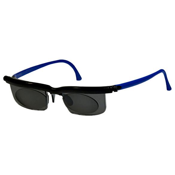 Korrektions-Sonnenbrille blau