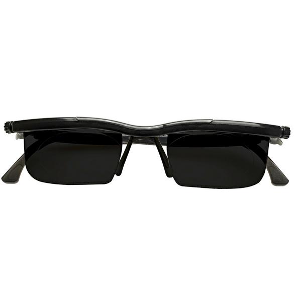 Korrektions-Sonnenbrille schwarz
