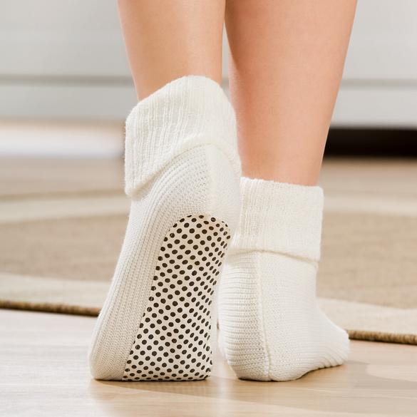 Stopper-Socken natur