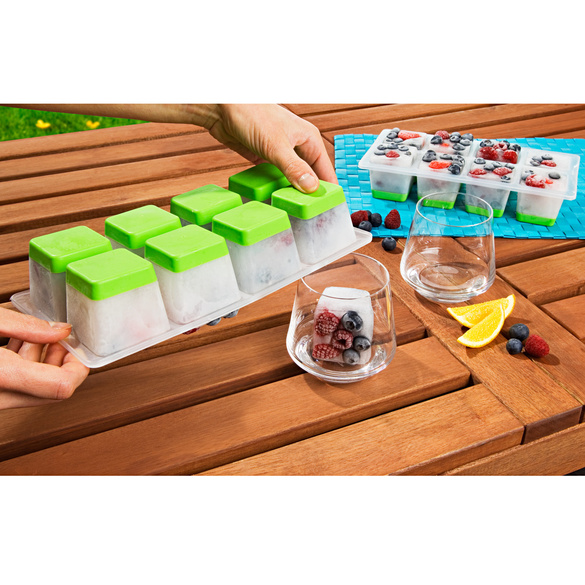 XL-Eiswürfelbereiter, 2er-Set