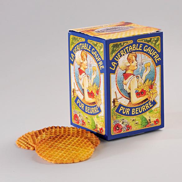 Waffeln mit Butter