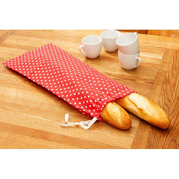 Brotbeutel rot-weiß
