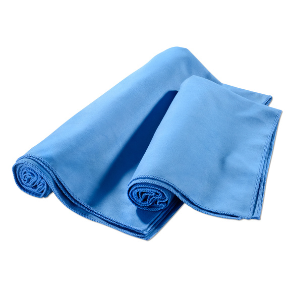 Mikrofaser-Badetuch blau, 74 x 140 cm