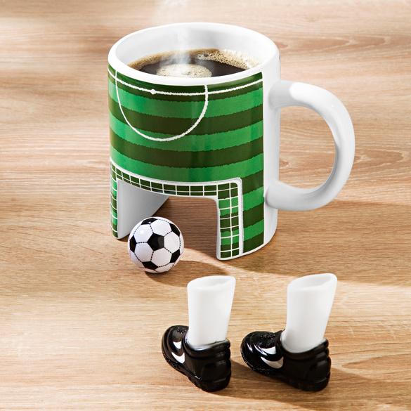 Fußball-Tasse, 4-tlg.