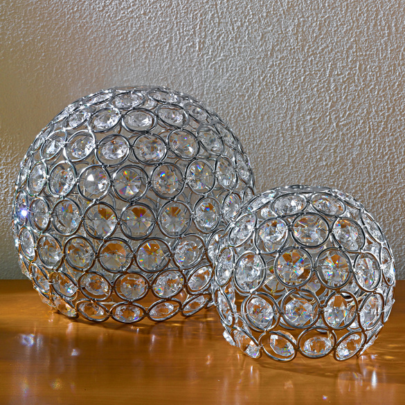 "LED-Kugel ""Diamant"", Ø 10 cm"