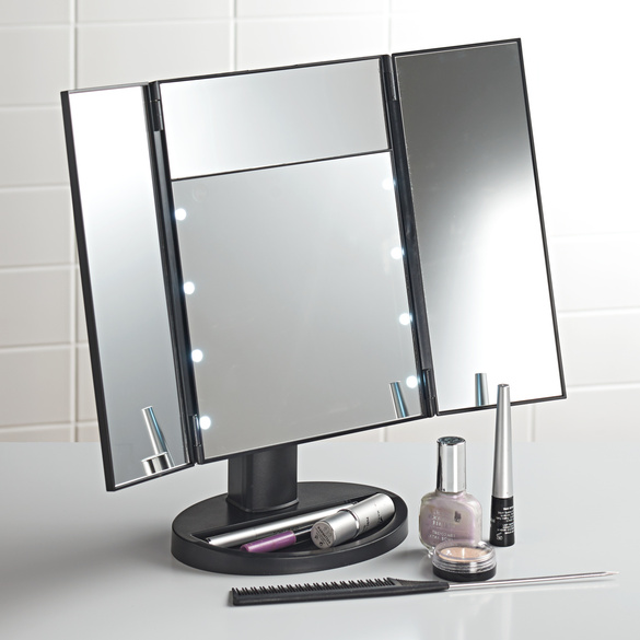 Kosmetikspiegl mit 16 LEDs