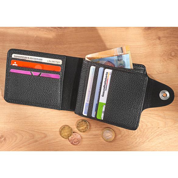 Herren-Brieftasche schwarz
