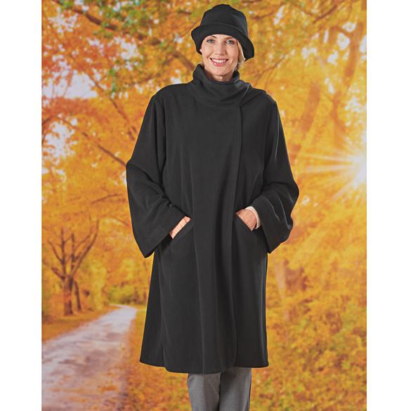 Mantel mit Hut, 2 Teile