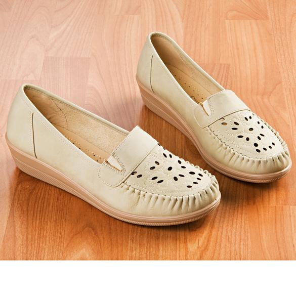 """Schuh """"Hanka"""" beige"""