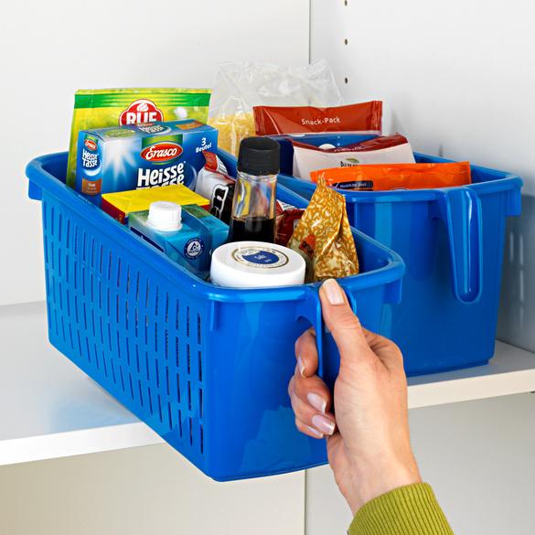 Aufbewahrungsbox blau