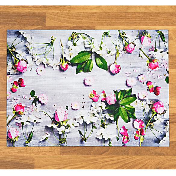 """Küchenteppich """"Pfingstrosen"""", 52 x 70 cm"""
