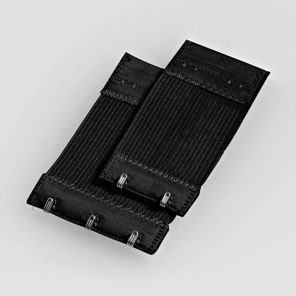 4 BH-Erweiterungen schwarz + 4 BH-Erweiterungen schwarz