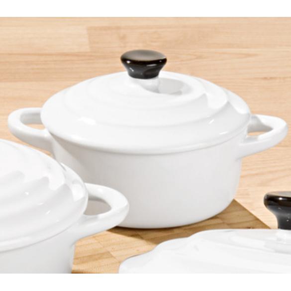 Keramiktopf weiß, klein